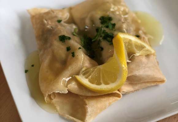 French Chicken Crepes
